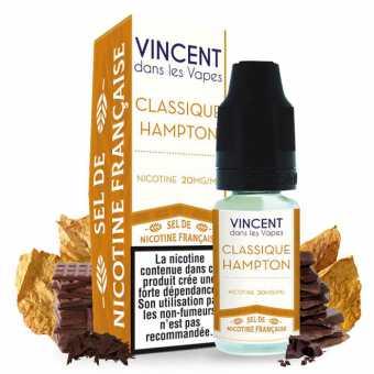 E liquide Classique Hampton Sels de nicotine VDLV
