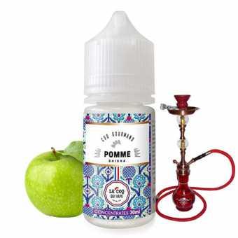 Arôme Concentré Pomme Shisha Le Coq Qui Vape