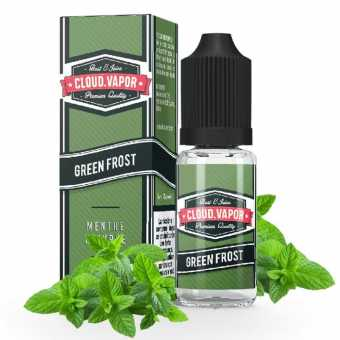 E-liquide Green Frost 10ml Cloud Vapor