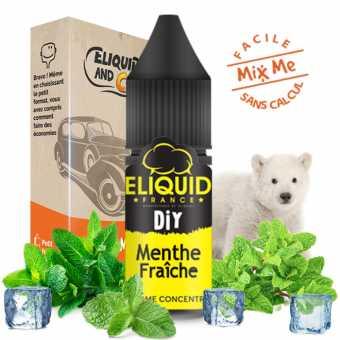Pack Diy Menthe Glaciale Eliquid France 230ml | EliquidAndCo