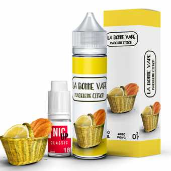 E-liquide Madeleine Citron La Bonne Vape