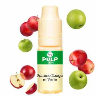 Eliquide Pomme Rouge et Verte Pulp