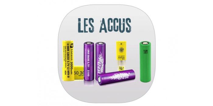 Accus d'une e-cigarette - Le Lexique
