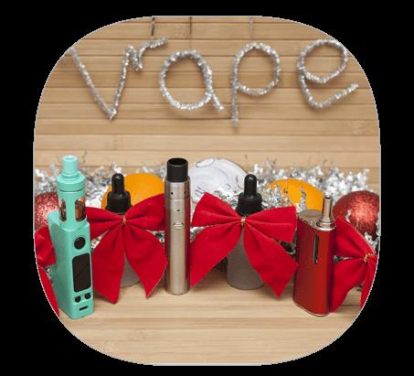 Une cigarette électronique à Noël, le cadeau idéal